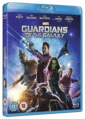 Marvel's Guardians of the Galaxy (Blu-ray, Region Free) *BRAND NEW/SEALED*