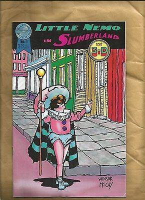 Little Nemo in Slumberland 1 in 3-D 1987 scarce 3D Blackthorne US Comics
