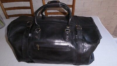 Over $500 retail, cabin size, overnight, luggage, weekender, genuine leather bag