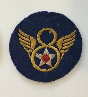 8th Army Air Force WW2 era Stubby Wing Patch