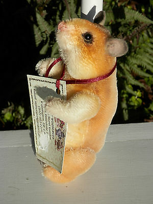 """OOAK #1 Prototype """"Z'almost"""" """"2003' 7"""" Hamster by Mary Wimberley"""