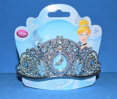 Disney Store Cinderella Metal Jewel Tiara Crown New