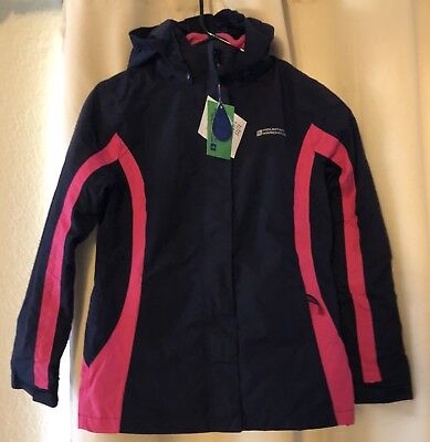 MOUNTAIN WAREHOUSE Kids Snow Jacket Snowboarding Winter  11-12