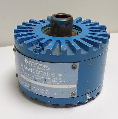 MagPowr Sperry Vickers Magnebrake 5MB90S Variable Torque Magnetic Particle Brake