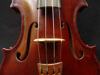 good 4/4 VIOLIN by Joxsef Simon -- properly set up & ready for trial, Returnable