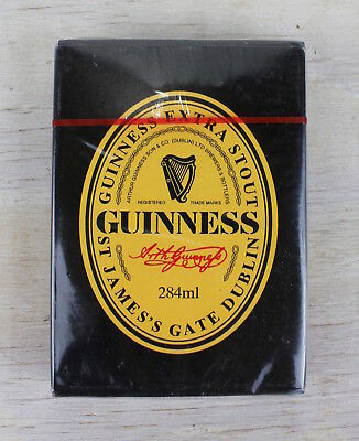 Guinness Extra Stout St James's Gate Dublin 1999 Playing Cards NEW