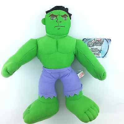 The Avengers Incredible Hulk Soft Plush - great condition with tags