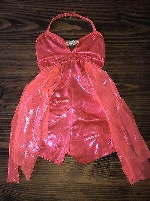 Meekelle Competitive Dance Costume Size Medium Child MC