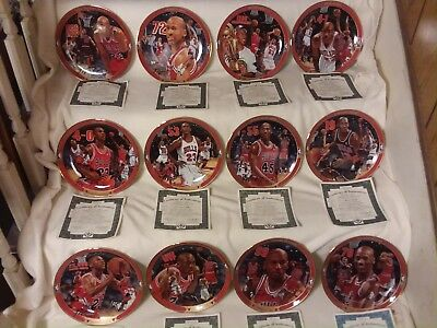 """Michael Jordan - """"Return to Greatness"""" Collection  (12 Plates)"""