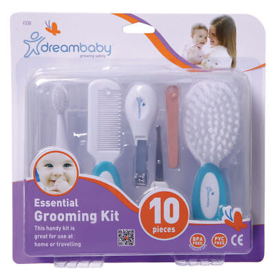 Dreambaby ESSENTIAL GROOMING KIT 10 PIECE L330 NEW