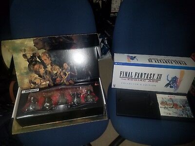 Final Fantasy XII 12 Zodiac Age Collector's Judge Magisters Mini Bust Set + More
