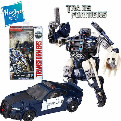 Hasbro Transformers 5 The Last Knight Premier Barricade Action Figure Kid Toy