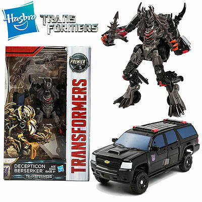 Hasbro Transformers 5 The Last Knight Premier Decepticon Berserker Action Figure