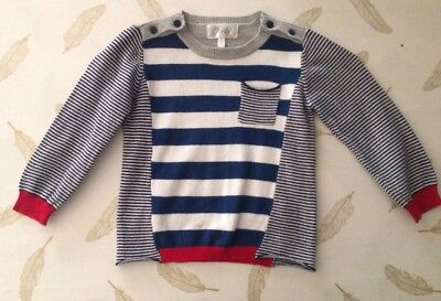Bebe By Minihaha Boys Light Knit Jumper Size 2