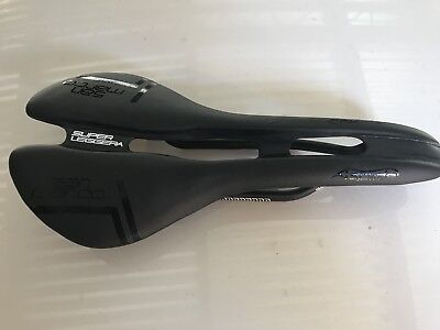 San Marco Aspide Road Saddle Full Carbon Shell And Rails New Black