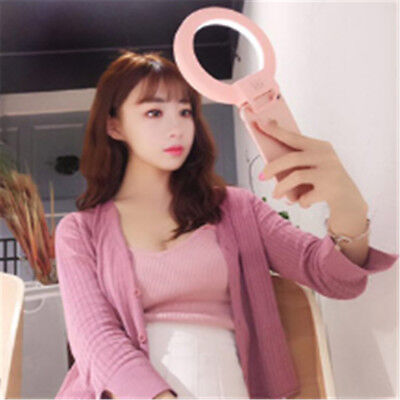 Smartphone LED Selfie Portable FlashCamera Photography Ring Light For All Phone