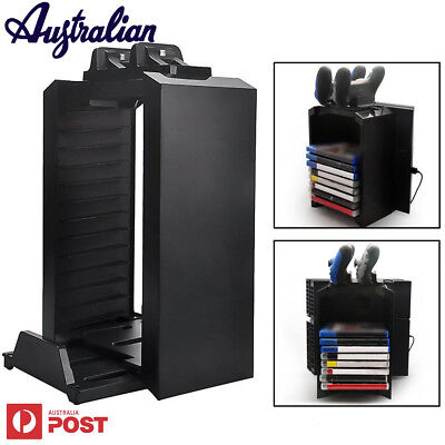 Multifunctional Detachable Holder Game Disk Storage Tower For PS4/PS4 Slim / Pro