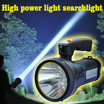 Odear Super Bright Searchlight Handheld Portable Spotlight Led Rechargeable
