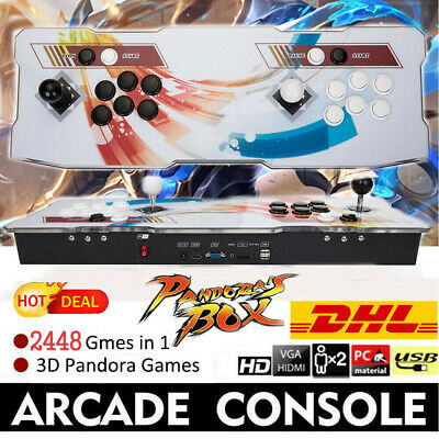 Original Pandora's Box 5S 1299 in One Double Stick Retro Arcade Console Support
