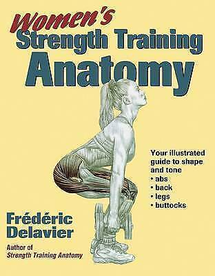 Women's Strength Training Anatomy by Frederic Delavier (Paperback, 2002)