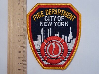 Fire Department City of New York FDNY patch - USA Feuerwehr Abzeichen