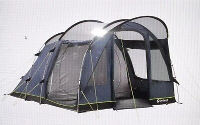 Outwell Rockwell 3 & OUTWELL Arkansas 5 Tent with poles. Camp uk rating 9.5/10 RRP £800 ...