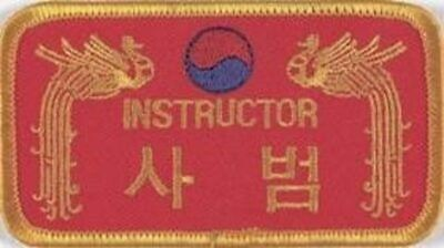Aufnäher Dragon Instructor rot / Patch