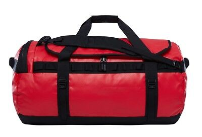 Borsone Zaino The North Face Base Camp Duffel L Red Scontato