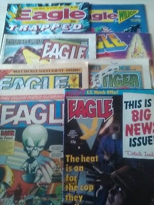 Eagle Comics (8x Issues)