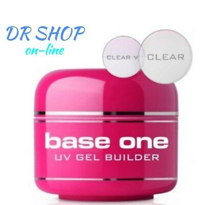 GEL BASE ONE CLEAR UV 50 g MADE IN ITALY OFFER OF THE MONTH