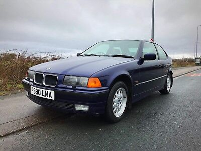 BMW 318 ti Compact LOW mileage & Owners. Mot until November