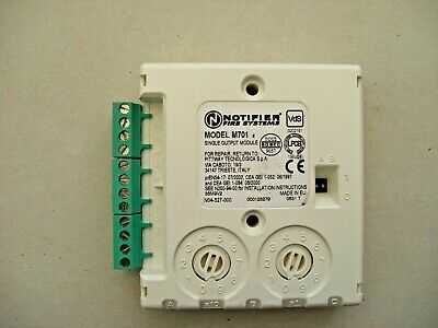 £15 Notifier M701 Single Output Module