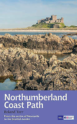 Northumberland Coast Path: Recreational Path Guide by Roland Tarr (Paperback,...