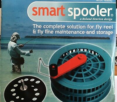 Henrion Smart Spooler for Cleaning and Storing Fishing Lines, unused in box