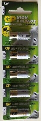 GP High Voltage 23AE 12-Volt Alkaline Battery(FREE SHIPPING WORLDWIDE) EXP: 2021