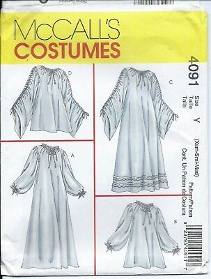 M 4091 Sewing Pattern Chemise Top Dress Gown Sew Sizes Xs 4 6 S 8