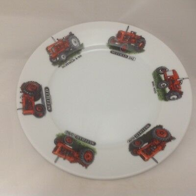 "Nuffield Tractor Chip Resisant 9"" Plate 6 Different Tractors"