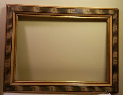 Mid 19th Century Antique Gold Gilding/ Gesso Ornate Frame Wooden RARE