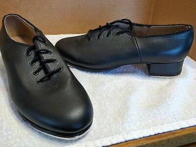 Bloch Leather Tap Dance Shoes W/ Techno Taps 27& 3H ~ Size 6~