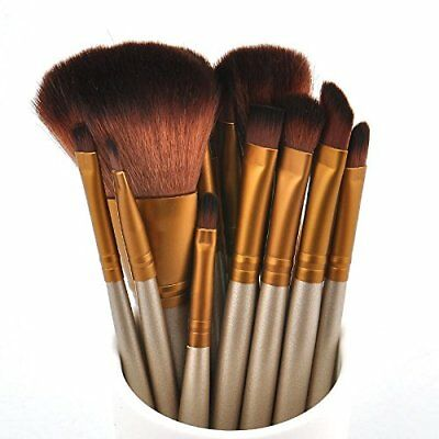 2018 New Zoeva Makeup Brush Set 15 Pcs  Rose Gold + Bag