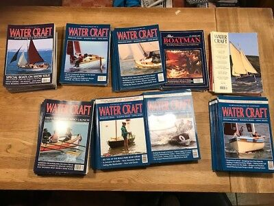Watercraft and The Boatman Magazines/Classic Sailing/Traditional Boatbuilding