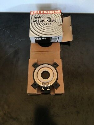 Selenium  Rpdh 200 Diaphragm. Speaker Parts.
