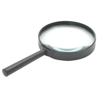 1 x Rolson 60330 100mm Magnifying Glass, High optical clarity glass lens