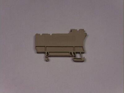 Weidmuller ZAPTWZIA1.5/3L End Plate For Terminal Block Beige  USED