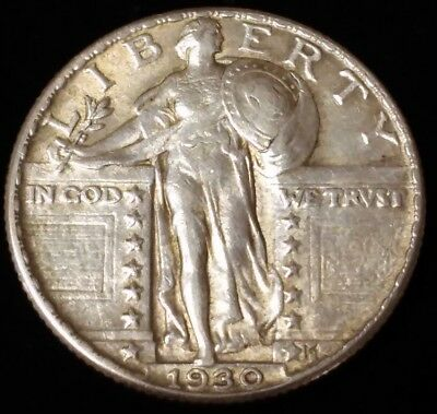 1930 Standing Liberty Quarter in VF condition!