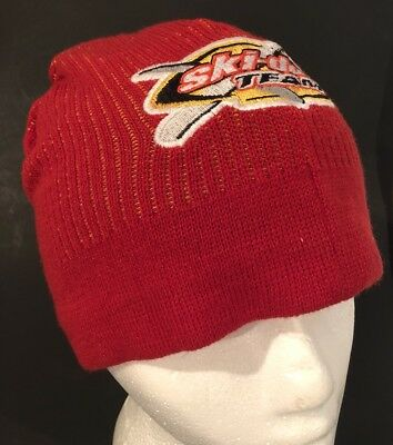 Ski Doo X Team Toque Snowmobile Race Beanie Winter Hat Skidoo Cap Racing Clothes