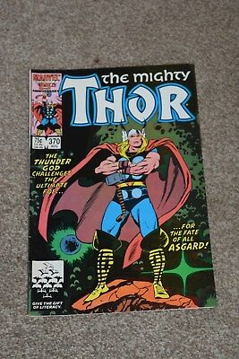 MARVEL COMICS THE MIGHTY THOR  no 370