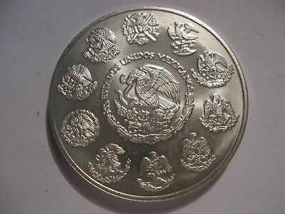 2003 2 oz Silver Libertad 2 onzas Coin Mexico Low Mintage  3 of 3 NO RESERVE