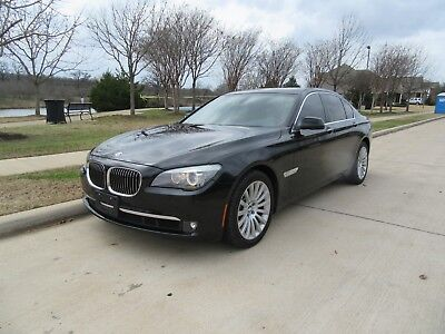 2012 BMW 7-Series Base Sedan 4-Door 2012 BMW 7-Series 750I