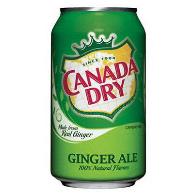 Canada Dry Ginger Ale 12oz 355ml (Pack of 24)